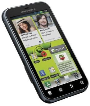 5-point review: Motorola Defy+