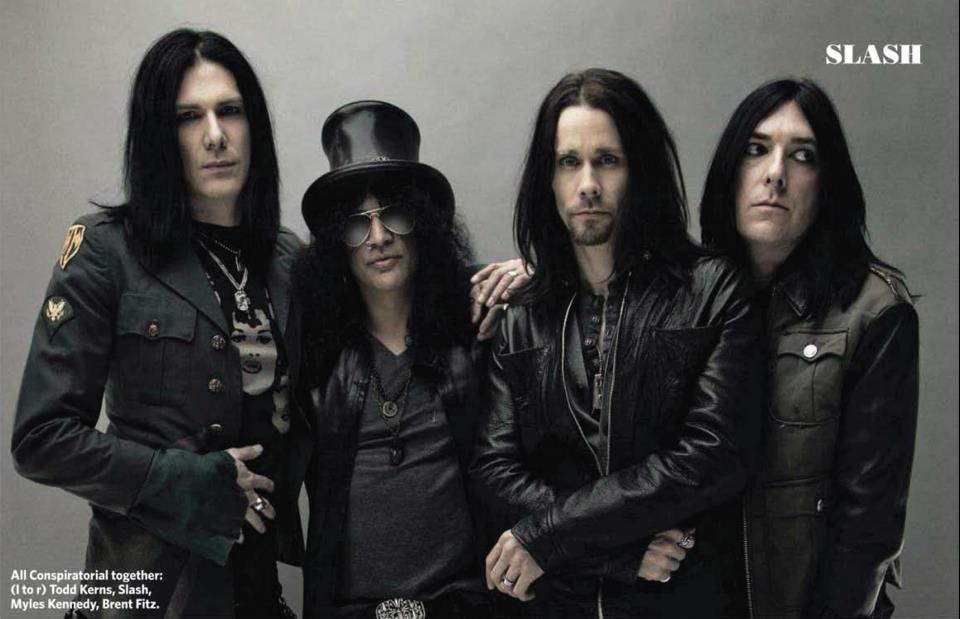 Review Slash feat Myles Kennedy and the Conspirators VTTH Test